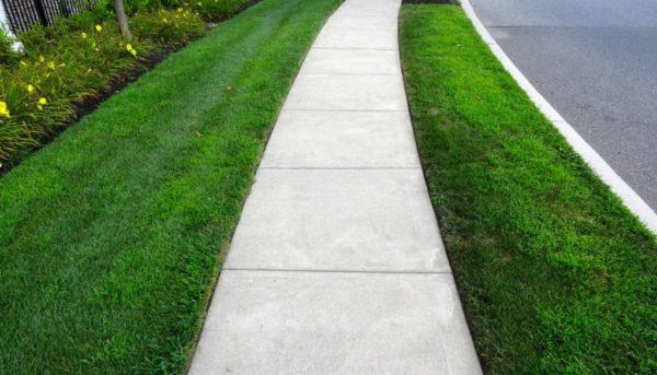 Asphalt Concepts Concrete Footpath